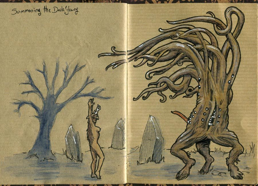 1480938533218571802 - Говард Филлипс Лавкрафт - история нелегкой жизни и творчества мастера ужасов